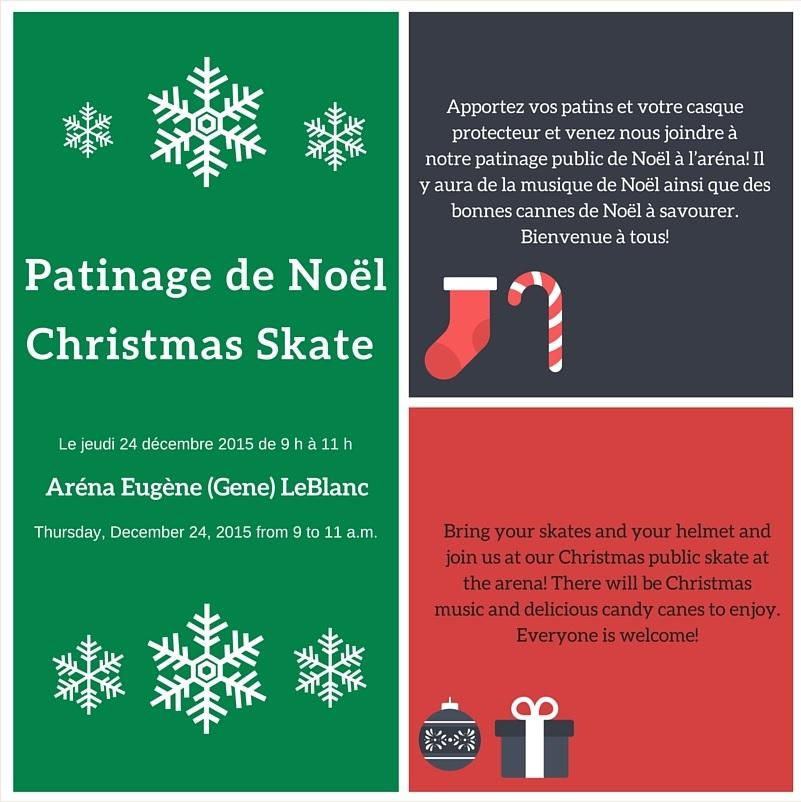 Patinage de Noël 2015